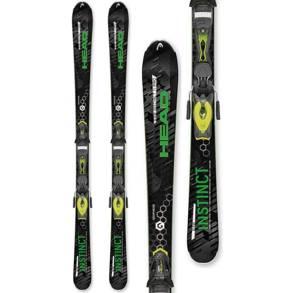 ヘッド Head メンズ スキー・スノーボード ビンディング【Raw Instinct Ti Pro Skis w/ PRX 12 Bindings】