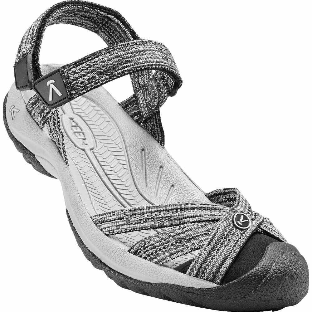 キーン Keen レディース サンダル・ミュール シューズ・靴【Bali Strap Sandals】Neutral Grey/Black