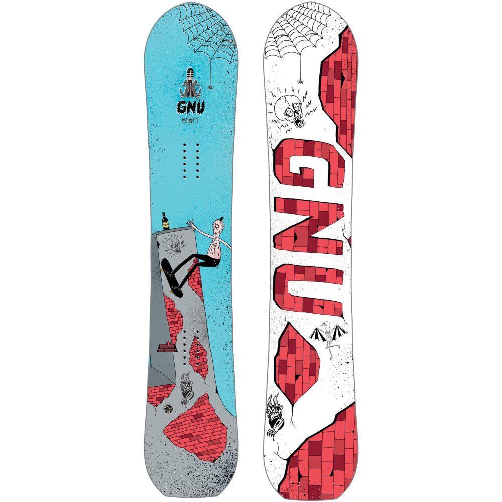 グヌ GNU メンズ スキー・スノーボード ボード・板【Money Blem Snowboard 2019】