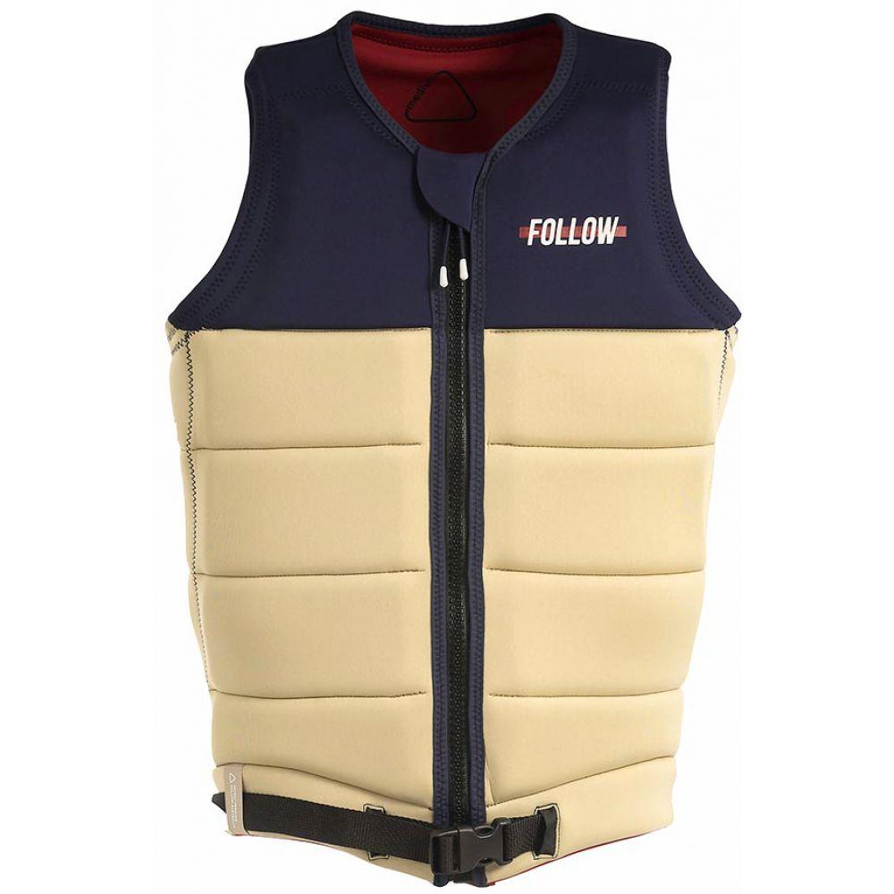 フォロー Follow メンズ トップス【Axe NCGA Wakeboard Vest】Sand