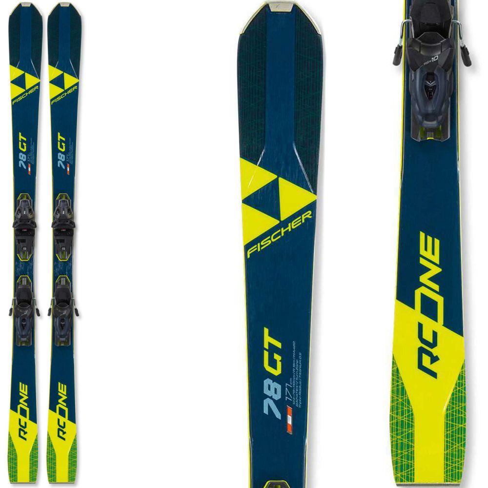 フィッシャー Fischer メンズ スキー・スノーボード ビンディング【RC One 78 GT Skis w/ RSW 10 GW Bindings 2020】