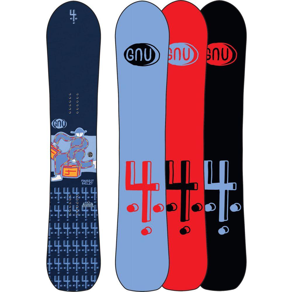 グヌ GNU メンズ スキー・スノーボード ボード・板【Forest Bailey 4 Wide Snowboard 2020】
