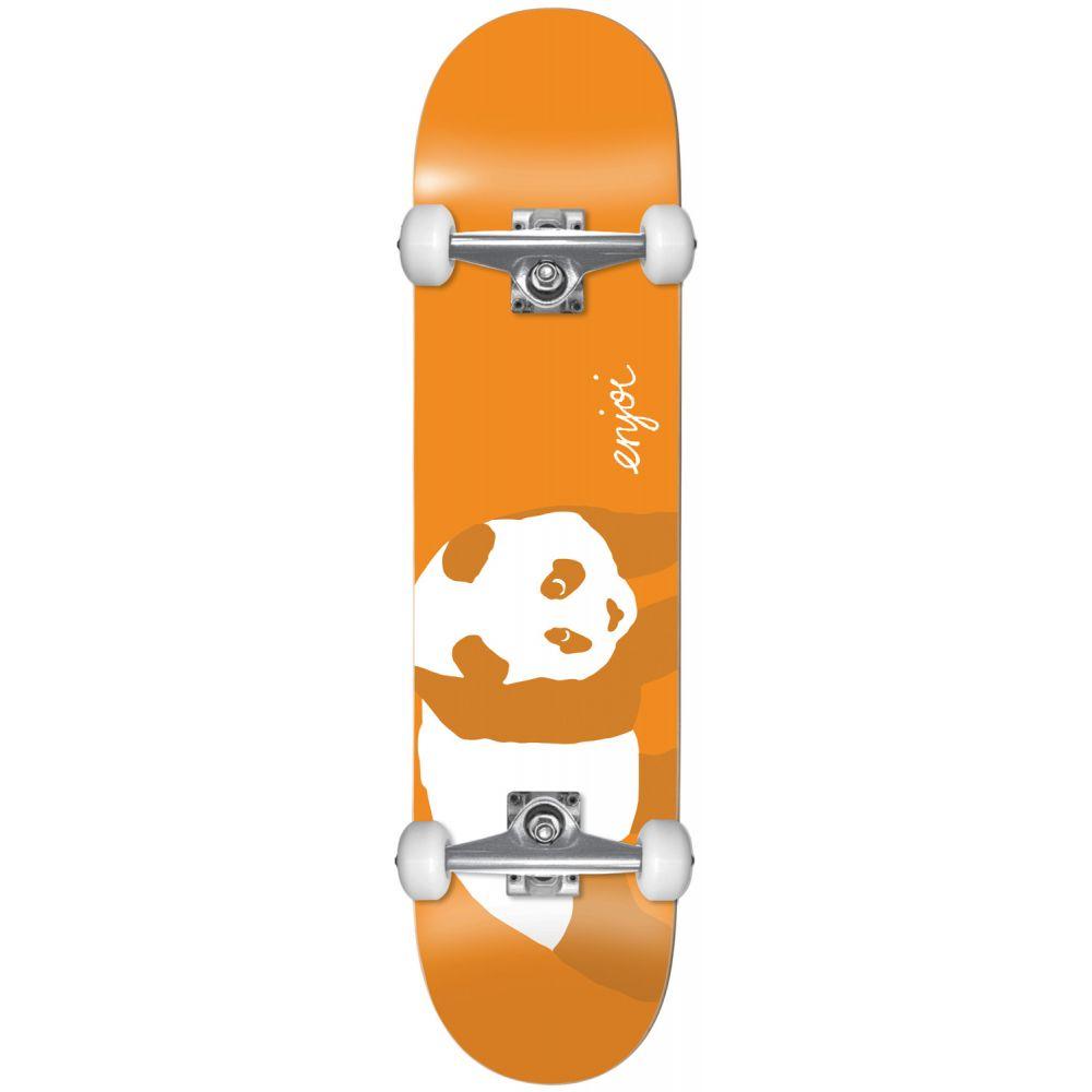 エンジョイ Enjoi メンズ スケートボード ウィール ボード・板【Orange Panda Soft Wheels Skateboard Complete】Orange