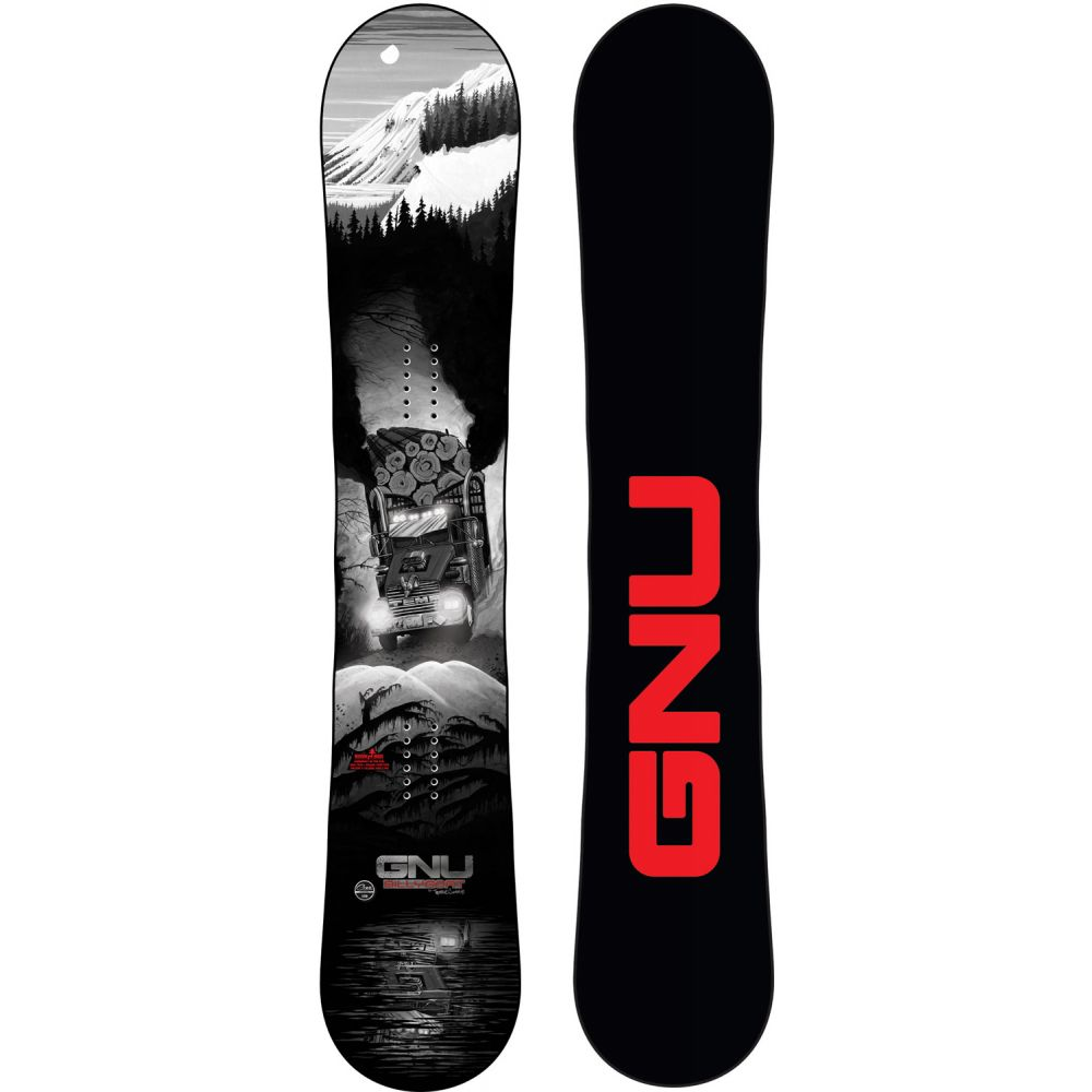 グヌ GNU メンズ スキー・スノーボード ボード・板【Billy Goat Wide Snowboard 2020】