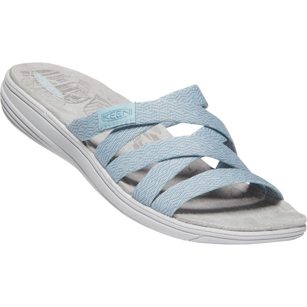 キーン Keen レディース サンダル・ミュール シューズ・靴【Damaya Slide Sandals】Sterling Blue/Dress Blue