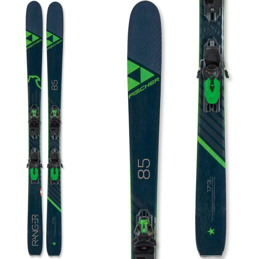 フィッシャー Fischer メンズ スキー・スノーボード ビンディング【Ranger 85 Skis w/ RSW 11 GW Powerrail Bindings 2020】