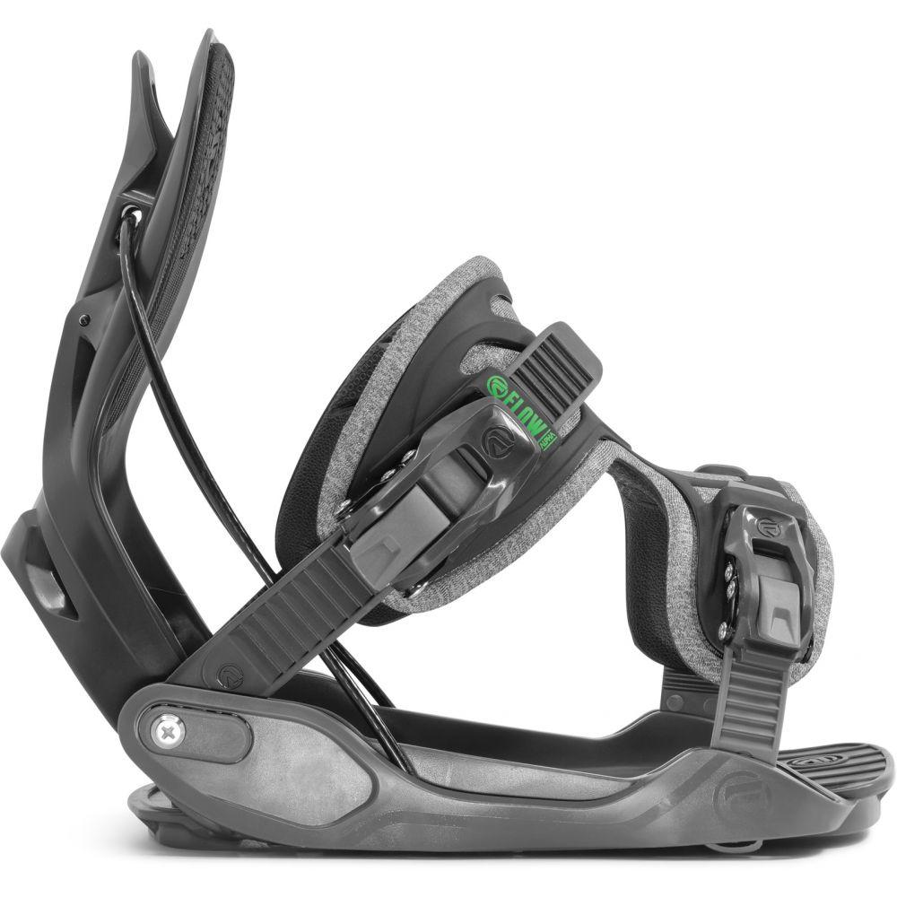 フロー Flow メンズ スキー・スノーボード ビンディング【Alpha Snowboard Bindings 2020】Grey