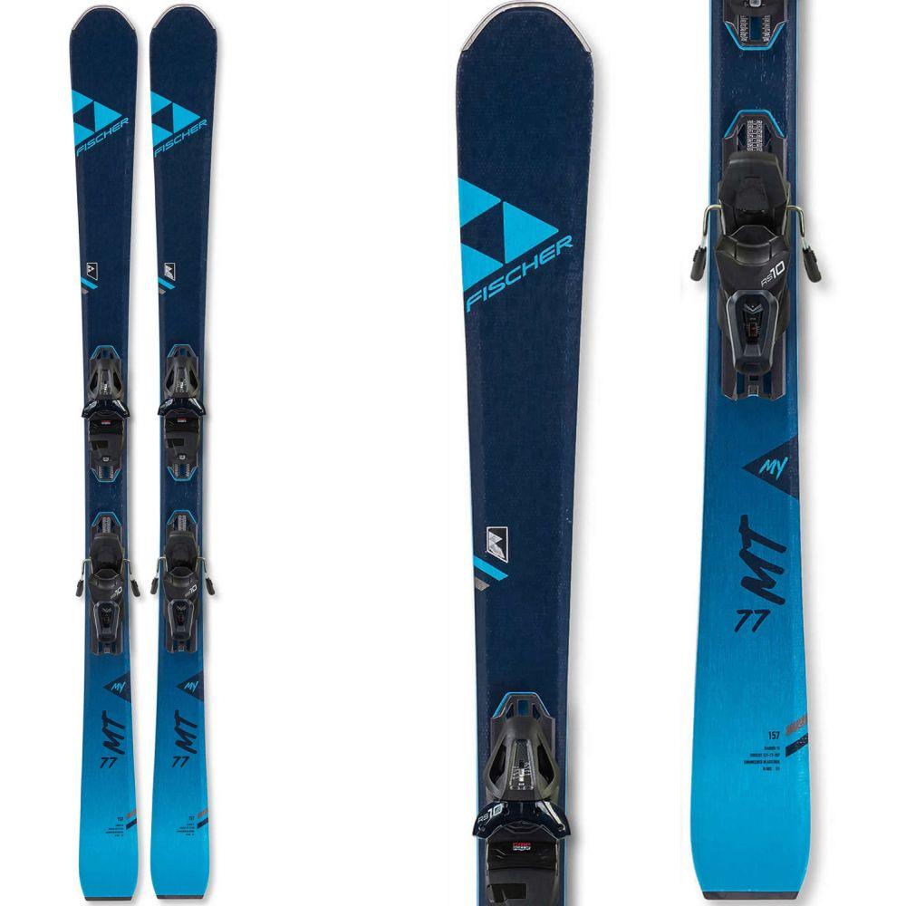 フィッシャー Fischer レディース スキー・スノーボード ビンディング【My Pro MT 77 Skis w/ My RS 10 GW Powerrail Bindings 2020】