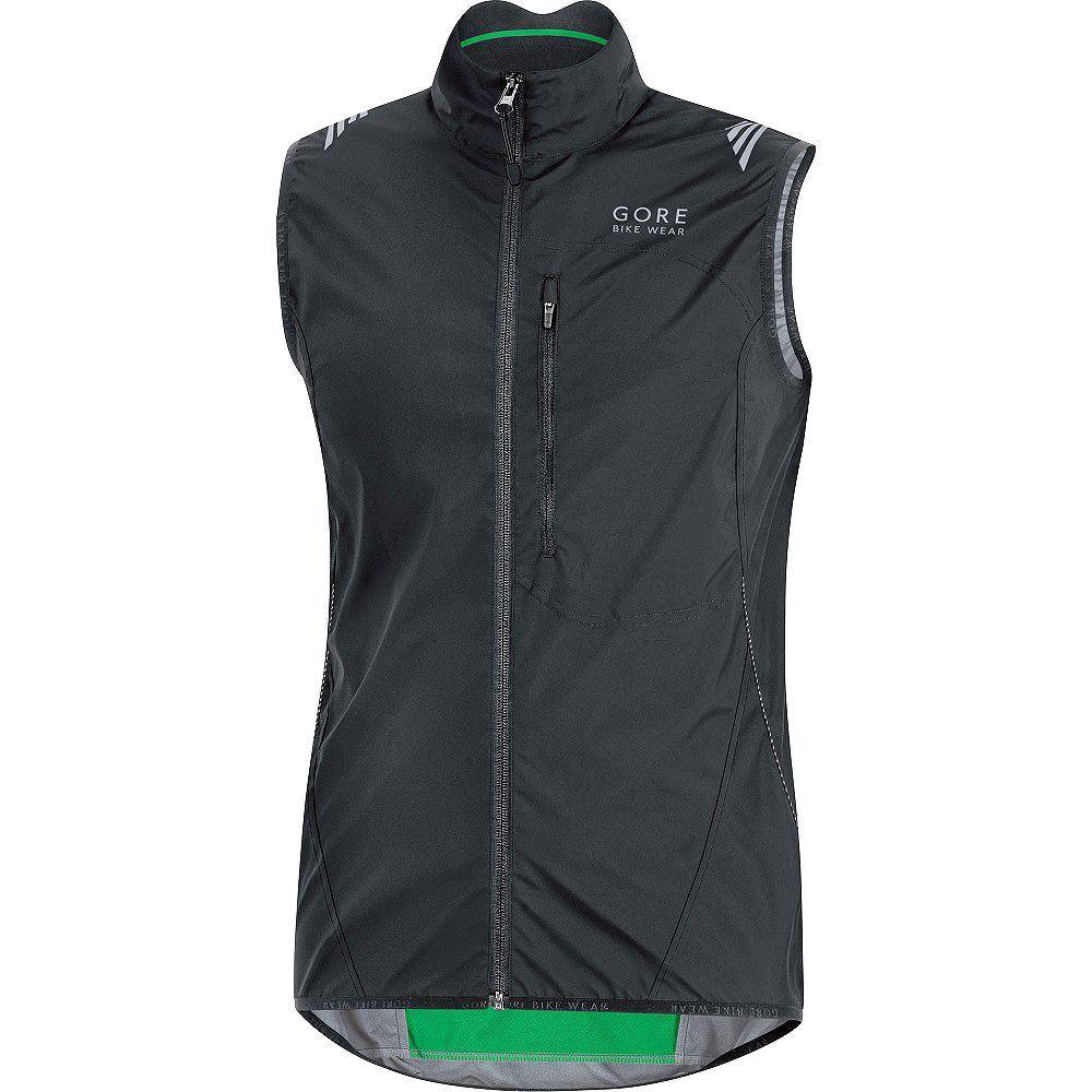 ゴア Gore レディース スキー・スノーボード ベスト・ジレ トップス【Wear Element Windstopper Active Shell Vest】Black