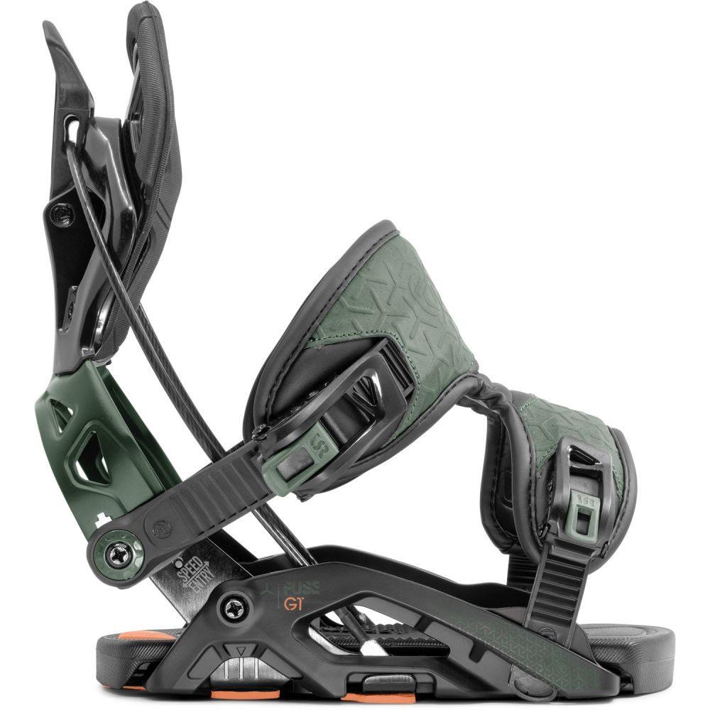 フロー Flow メンズ スキー・スノーボード ビンディング【Fuse GT Snowboard Bindings 2020】Black