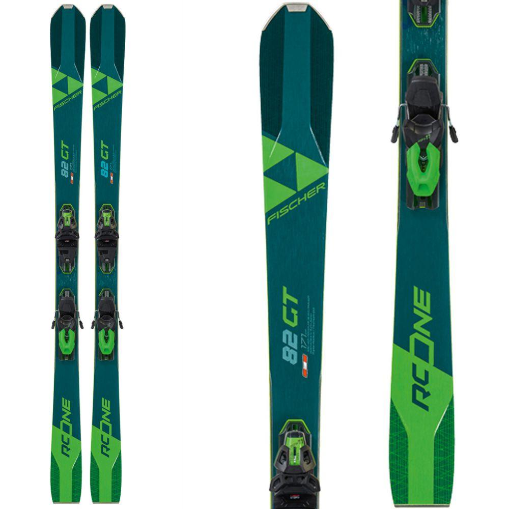 フィッシャー Fischer メンズ スキー・スノーボード ビンディング【RC One 82 GT Skis w/ RSW 12 GW Bindings 2020】