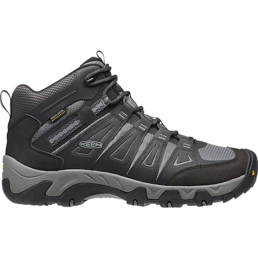 キーン Keen メンズ ハイキング・登山 ブーツ シューズ・靴【Oakridge Mid WP Hiking Boots】Magnet/Gargoyle