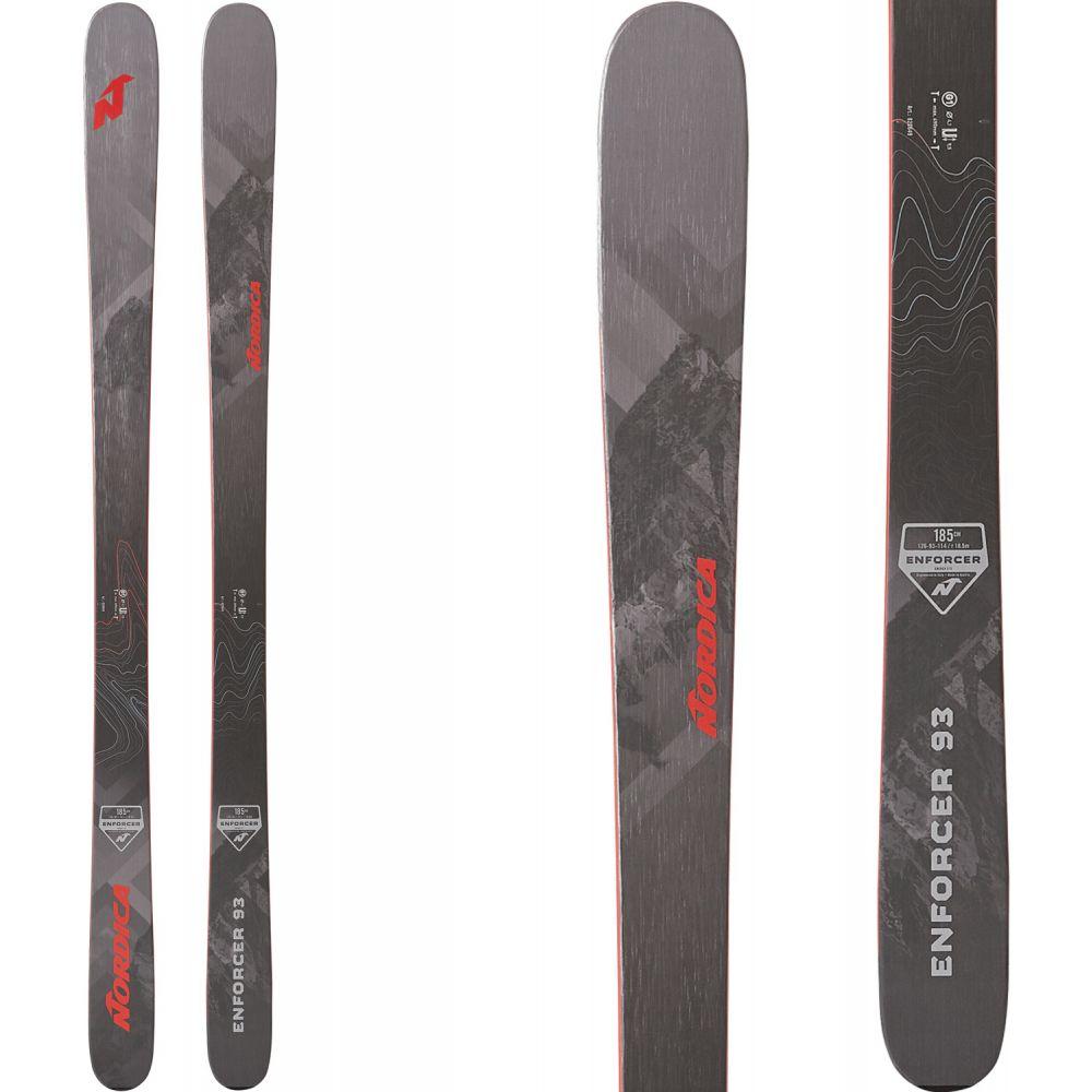 ノルディカ Nordica メンズ スキー・スノーボード ボード・板【Enforcer 93 Skis 2020】Grey/Black