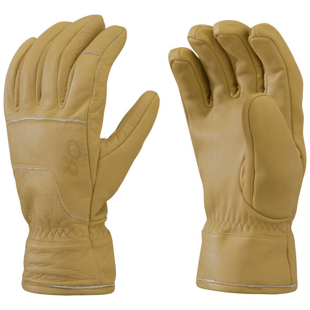 アウトドアリサーチ Outdoor Research メンズ スキー・スノーボード グローブ【Aksel Work Gloves】Natural