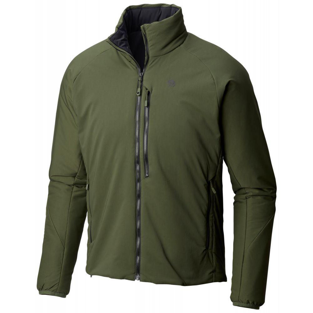 マウンテンハードウェア Mountain Hardwear メンズ ジャケット アウター【Kor Strata Jacket】Surplus Green