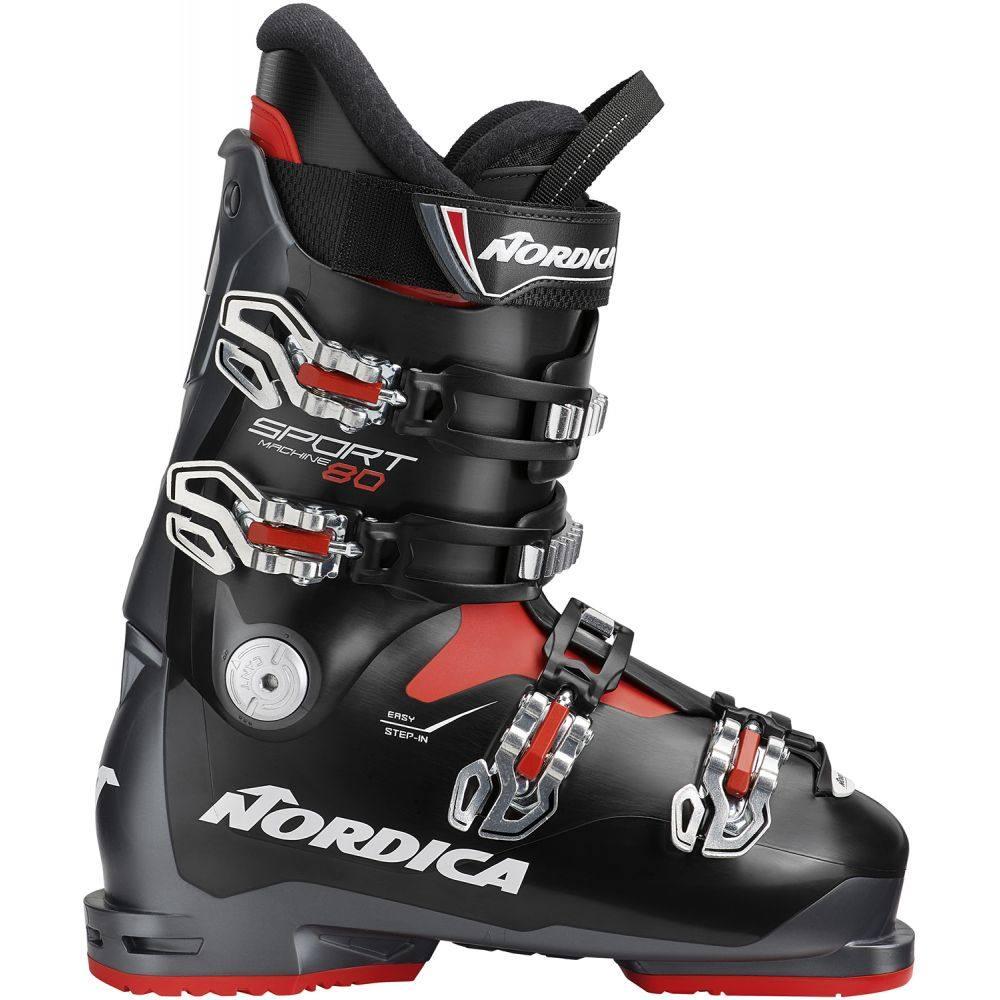 ノルディカ Nordica メンズ ブーツ シューズ・靴【Sportmachine 80 Ski Boots 2019】Anthracite/Black/Red