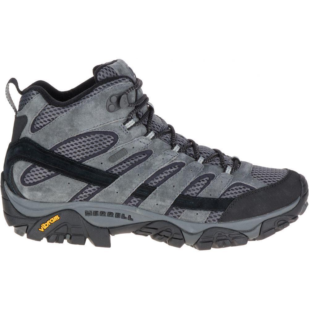 メレル Merrell メンズ ハイキング・登山 ブーツ シューズ・靴【Moab 2 Mid Waterproof Hiking Boots】Granite