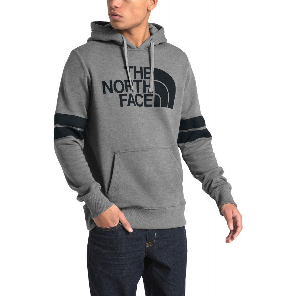 ザ ノースフェイス The North Face メンズ スキー・スノーボード パーカー トップス【Collegiate Pullover Hoodie】TNF Medium Grey Heather/TNF Black