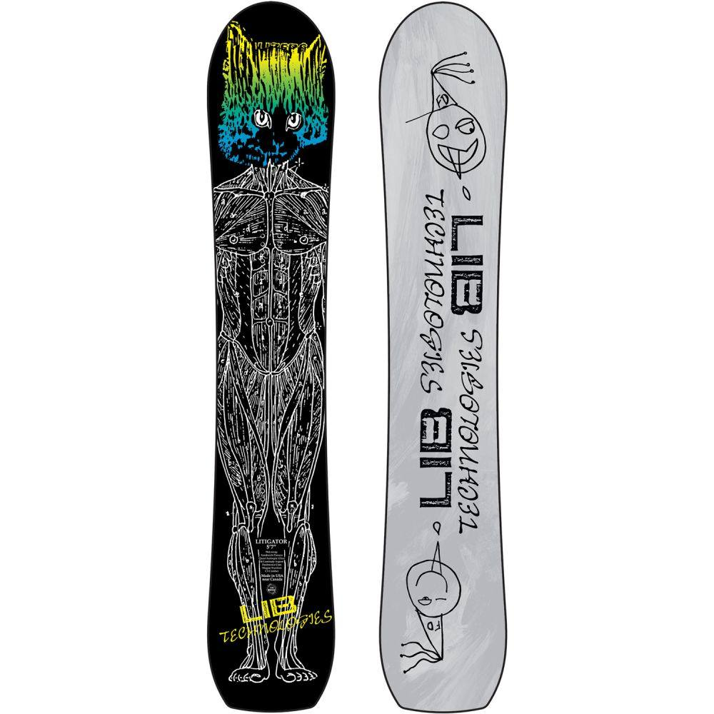 リブテック Lib Tech メンズ スキー・スノーボード ボード・板【Litigator Snowboard 2020】