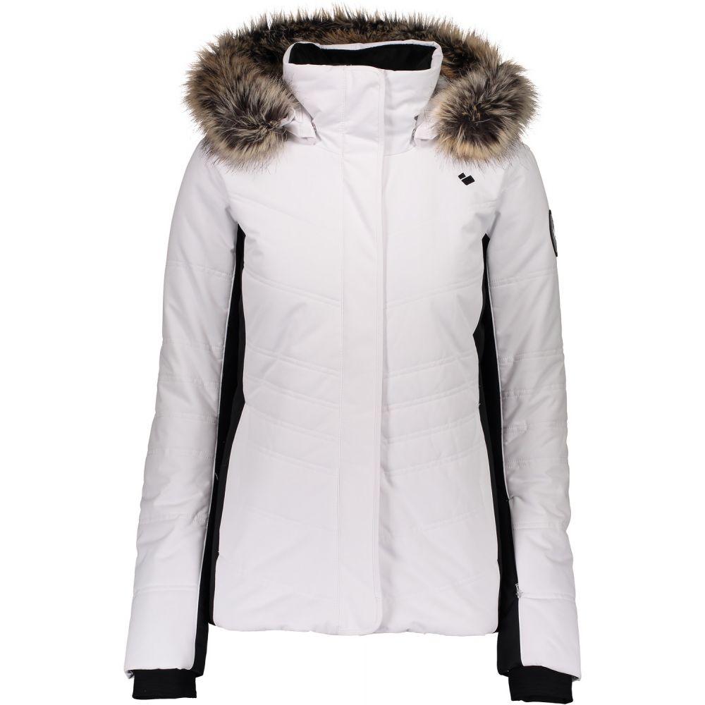 オバマイヤー Obermeyer レディース スキー・スノーボード ジャケット アウター【Tuscany II Ski Jacket】White