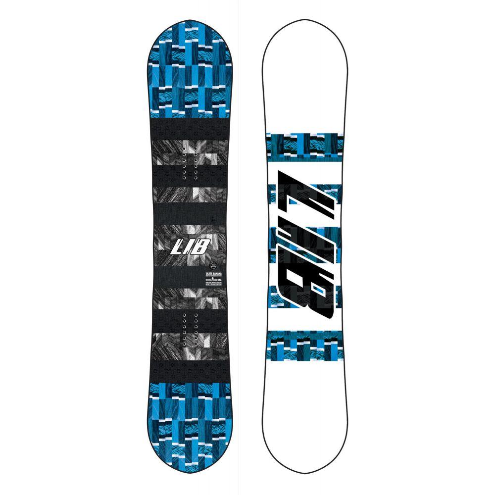 リブテック Lib Tech メンズ スキー・スノーボード ボード・板【Skate Banana Wide Snowboard 2020】Wood