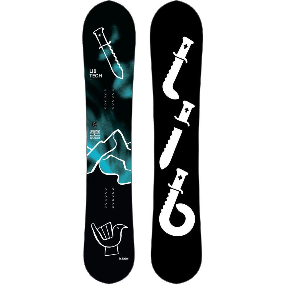 リブテック Lib Tech メンズ スキー・スノーボード ボード・板【Swiss Knife HP Blem Snowboard 2019】