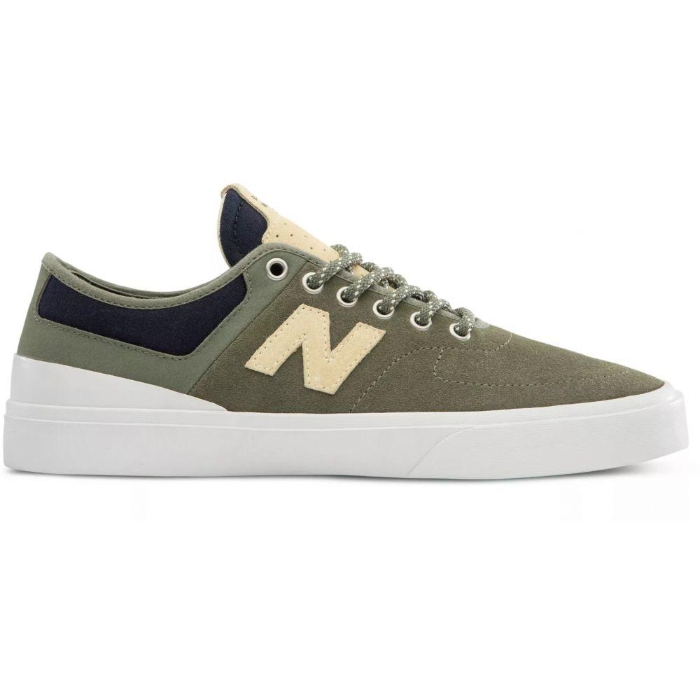 ニューバランス New Balance メンズ スケートボード シューズ・靴【Numeric 379 Skate Shoes】Olive/Yellow Suede