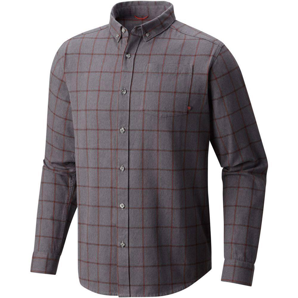 マウンテンハードウェア Mountain Hardwear メンズ シャツ トップス【Ashby L/S Shirt】Manta Grey