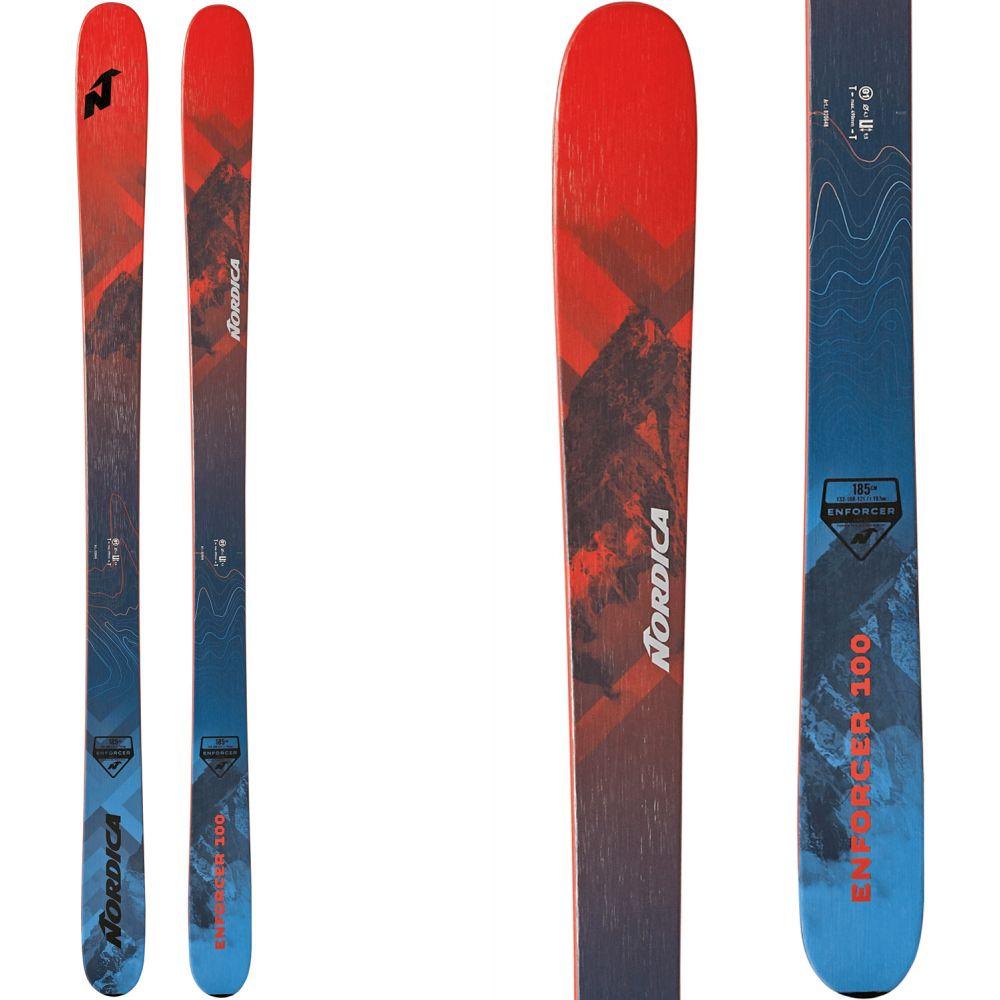 ノルディカ Nordica メンズ スキー・スノーボード ボード・板【Enforcer 100 Skis 2020】Red/Blue