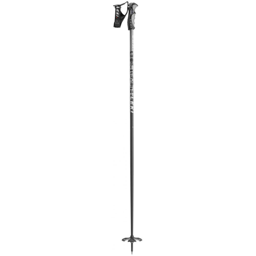 レキ Leki メンズ スキー・スノーボード ポール【Stealth S Ski Poles】Black/Grey