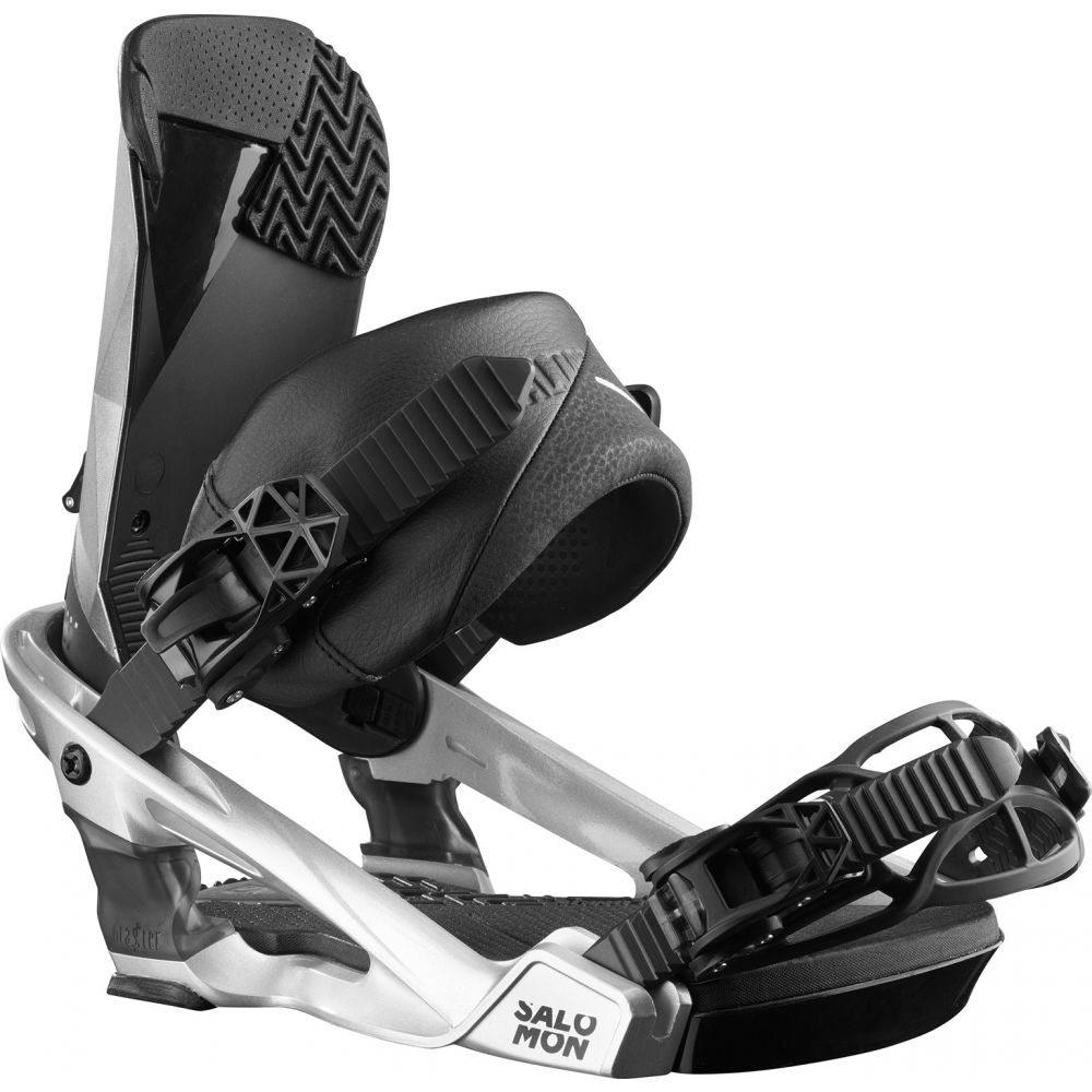 サロモン Salomon メンズ スキー・スノーボード ビンディング【Alibi Snowboard Bindings 2020】Metallic Grey