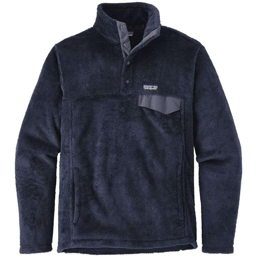 パタゴニア Patagonia メンズ フリース トップス【Re-Tool Snap-T Pullover Fleece】Navy Blue/Navy Blue X Dye