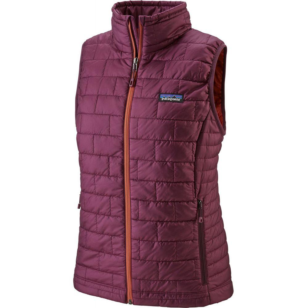 パタゴニア Patagonia レディース スキー・スノーボード ベスト・ジレ ダウン・中綿 トップス【Nano Puff Vest】Light Balsamic