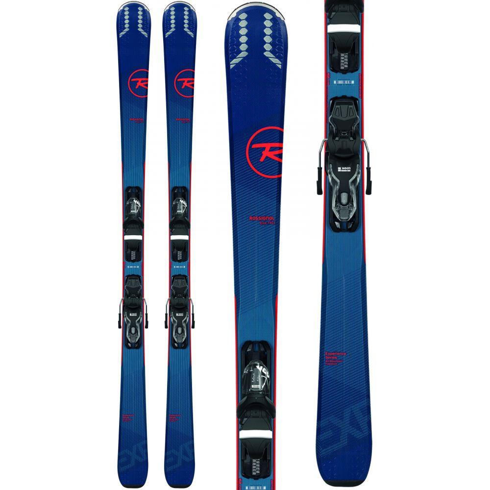 ロシニョール Rossignol メンズ スキー・スノーボード ビンディング【Experience 74 Skis w/ Xpress 10 Bindings 2020】Black