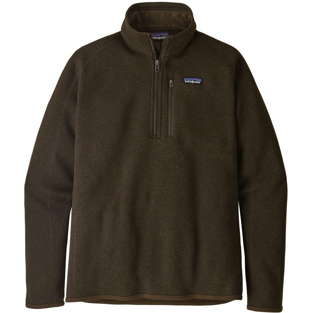 パタゴニア Patagonia メンズ フリース トップス【Better Sweater 1/4 Zip Fleece】Logwood Brown