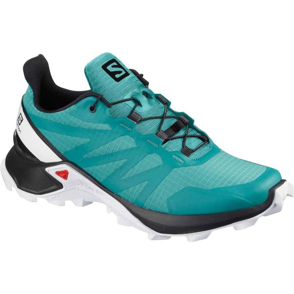 サロモン Salomon レディース ランニング・ウォーキング シューズ・靴【Supercross Trail Running Shoes】Bluebird/Black/White