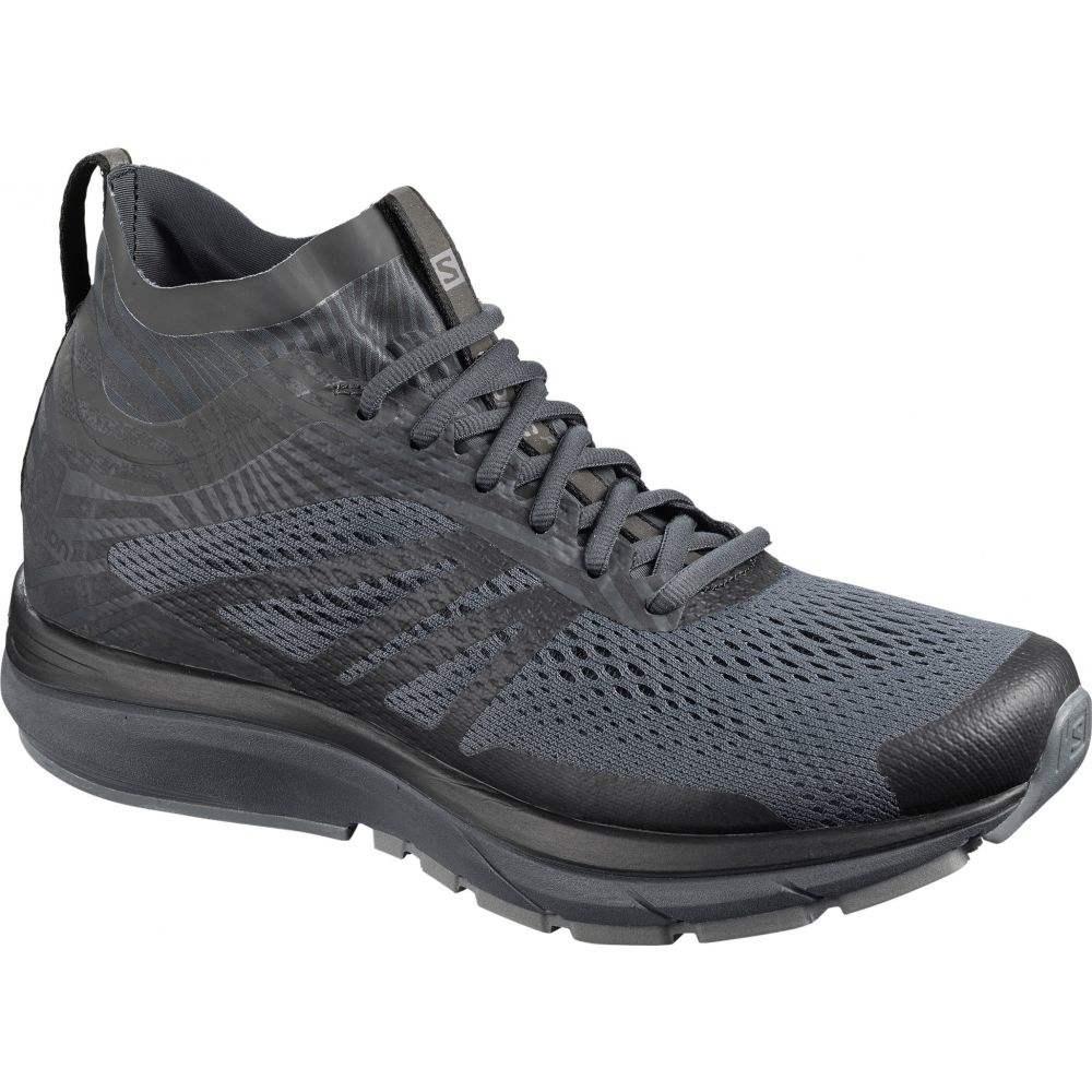 サロモン Salomon メンズ ランニング・ウォーキング シューズ・靴【Sonic RA 2 Nocturne Trail Running Shoes】Ebony/Quiet Shade/Black