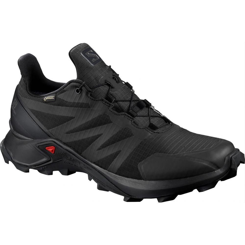 サロモン Salomon メンズ ランニング・ウォーキング シューズ・靴【Supercross GTX Trail Running Shoes】Black/Black/Black