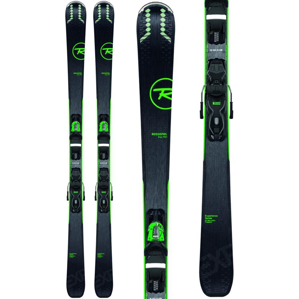 ロシニョール Rossignol メンズ スキー・スノーボード ビンディング【Experience 76 Ci Skis w/ Xpress 10 Bindings 2020】Black/Green
