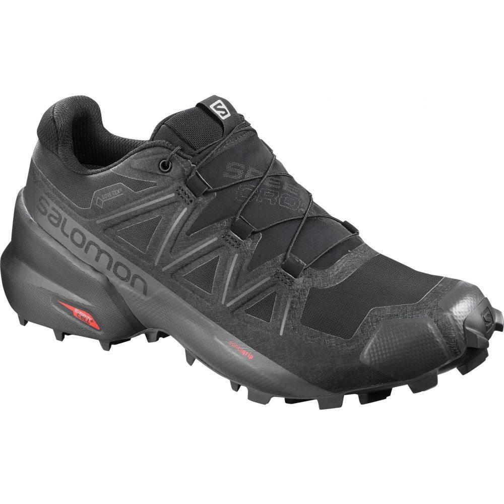 サロモン Salomon メンズ ランニング・ウォーキング シューズ・靴【Speedcross 5 Wide Trail Running Shoes】Black/Black/Phantom