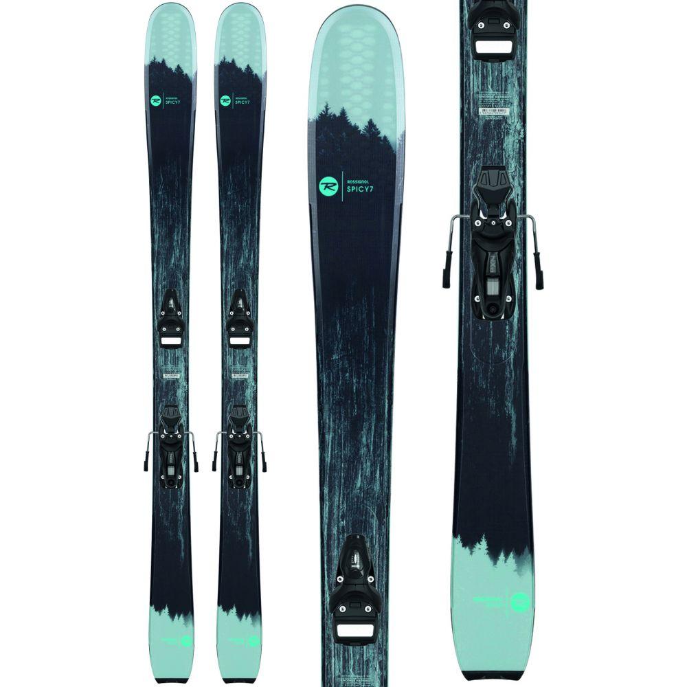 ロシニョール Rossignol レディース スキー・スノーボード ビンディング【Spicy 7 HD Skis w/ Xpress 10 Bindings 2020】