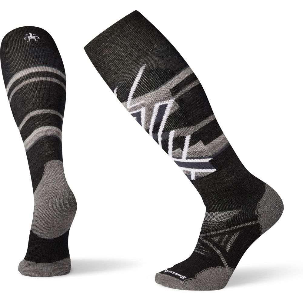 スマートウール Smartwool メンズ スキー・スノーボード ソックス【PhD Snow Medium Pattern Socks】Black