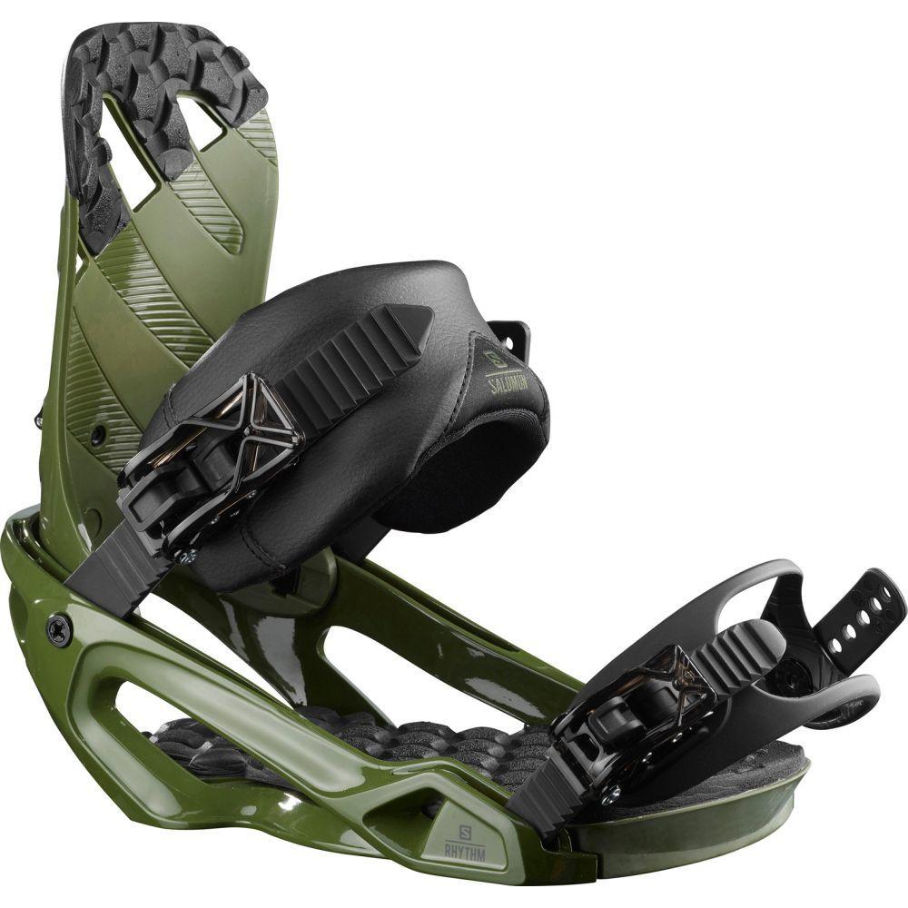 サロモン Salomon メンズ スキー・スノーボード ビンディング【Rhythm Snowboard Bindings 2020】Army Green