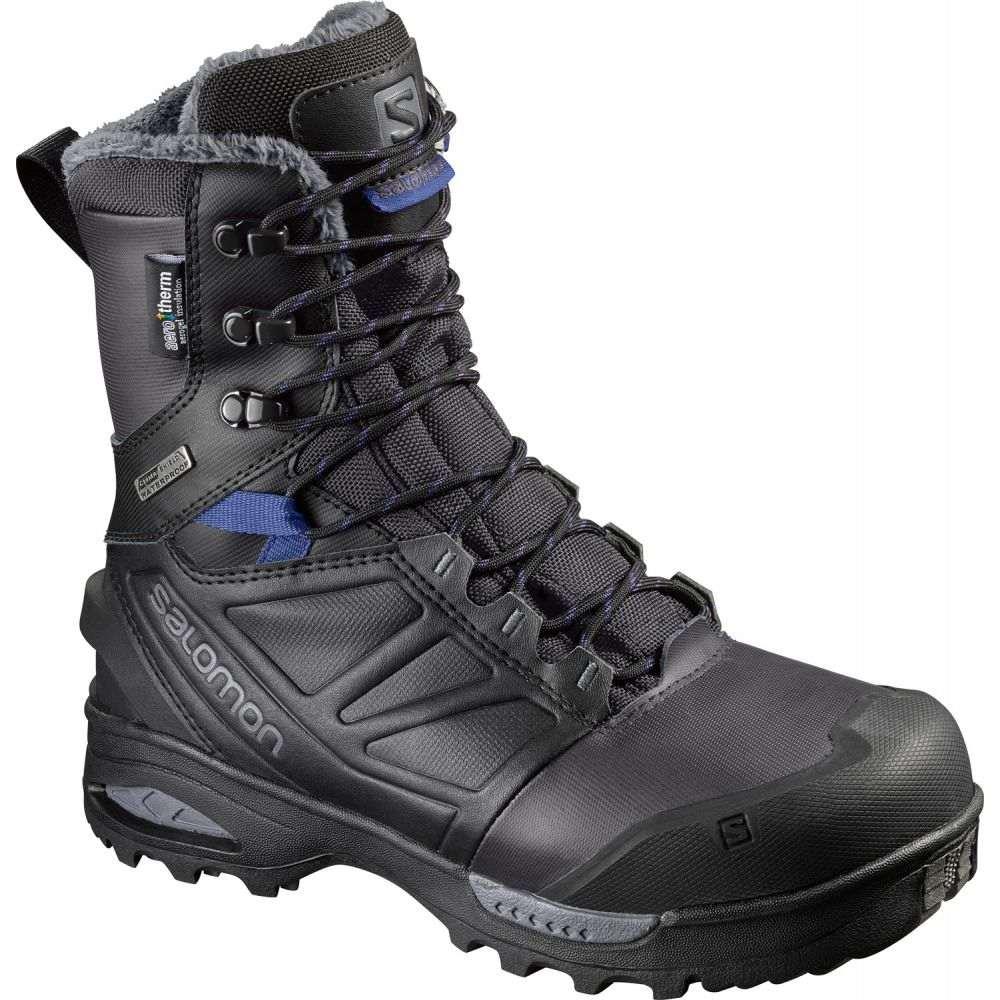 サロモン Salomon レディース ブーツ シューズ・靴【Toundra Pro CS WP Boots】Phantom/Black/Amparo Blue