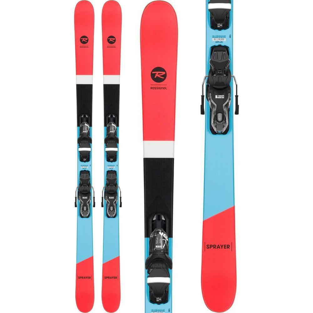 ロシニョール Rossignol メンズ スキー・スノーボード ビンディング【Sprayer Skis w/ Xpress 10 Bindings 2020】Black