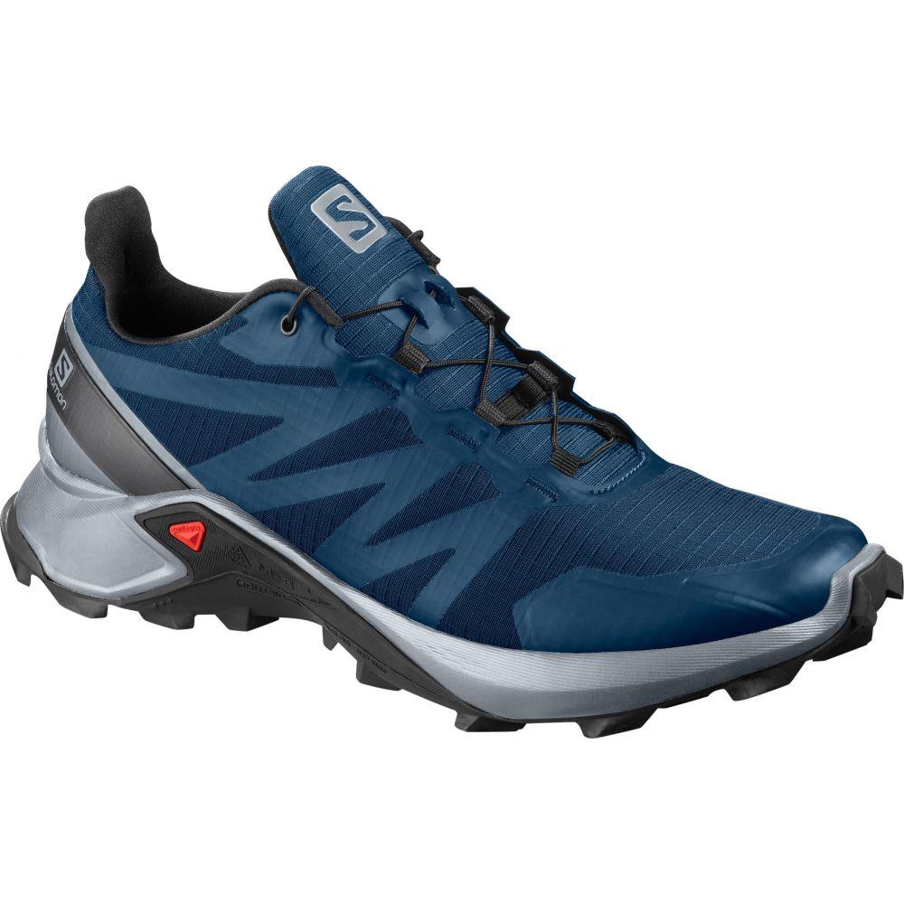 サロモン Salomon メンズ ランニング・ウォーキング シューズ・靴【Supercross Trail Running Shoes】Poseidon/Pearl Blue/Black