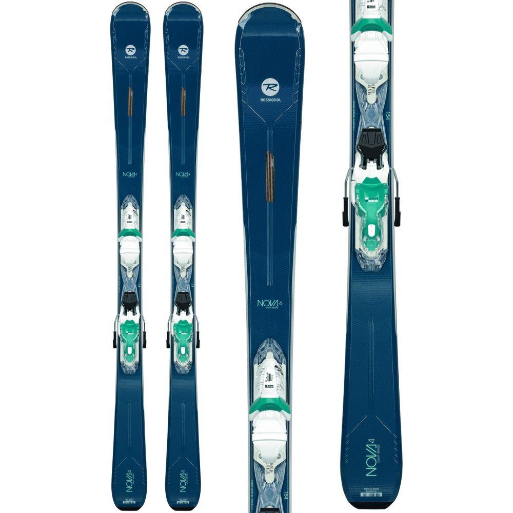 ロシニョール Rossignol レディース スキー・スノーボード ビンディング【Nova 4 Skis w/ Xpress 10 Bindings 2020】White/Turquoise