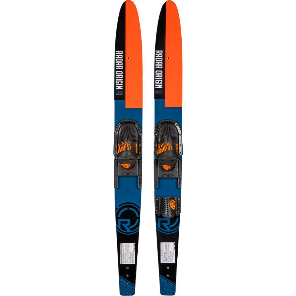 レーダー Radar メンズ スキー・スノーボード ビンディング【Origin Combo Skis w/ Horseshoe Adj Bindings】Blue/Blue/Orange