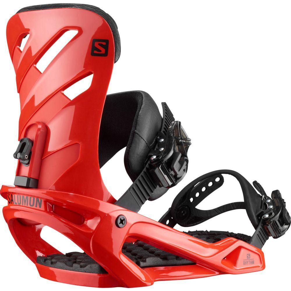 サロモン Salomon メンズ スキー・スノーボード ビンディング【Rhythm Snowboard Bindings 2020】Red