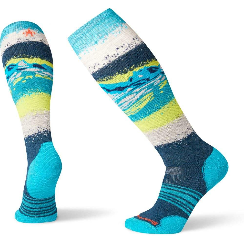 スマートウール Smartwool レディース スキー・スノーボード ソックス【PhD Snow Medium Socks】Deep Marlin